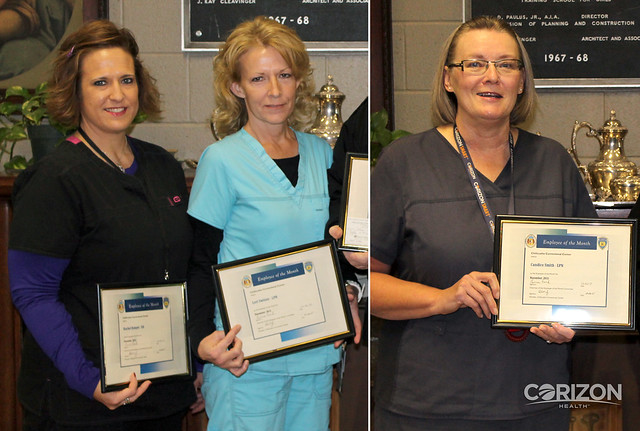 Life-saving actions lead to employee of the month recognitions in Missouri