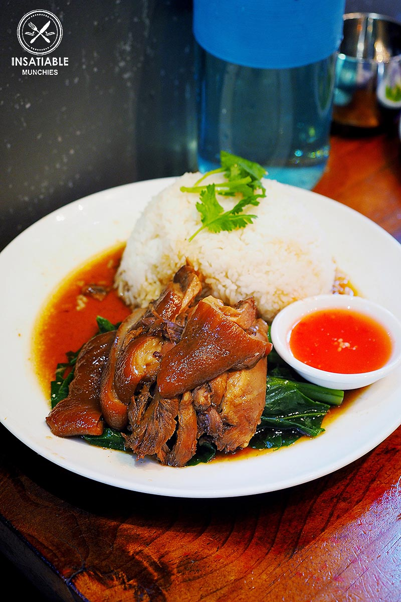 Pork Hock with Rice ($9.90). Home Thai, Sydney: Sydney Food Blog Review