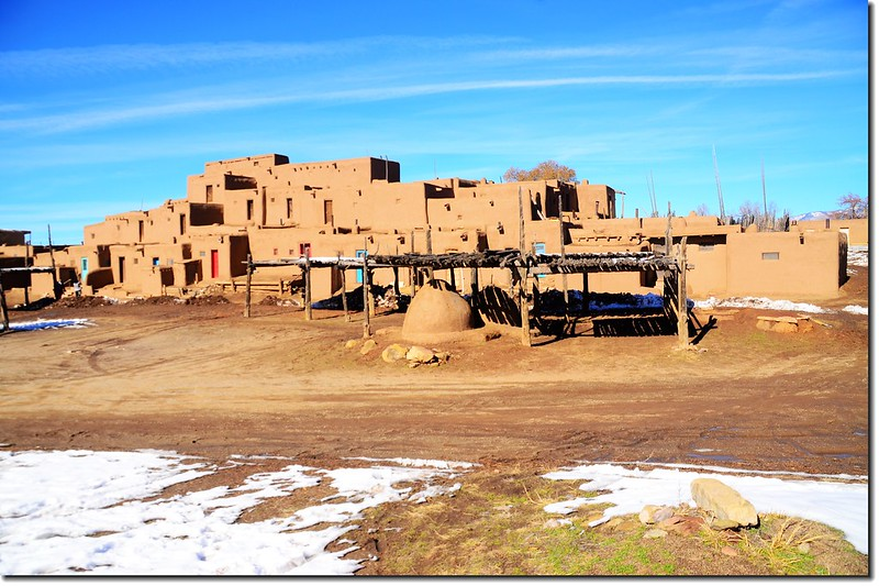 "Hlaumma"" at The North House, Taos Pueblo 5"