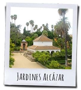 De tuinen vormen een heerlijk rustpunt op je wandeling door het Real Alcázar in Sevilla