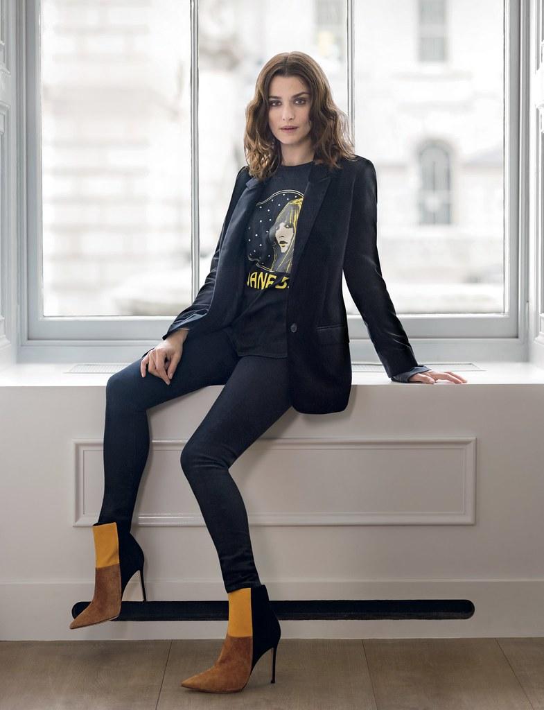 Рэйчел Вайс — Фотосессия для «Vogue» UK 2015 – 1