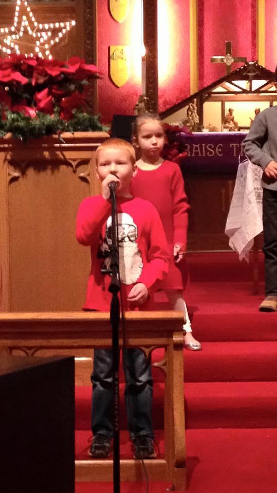 Children's Christmas Program 2015