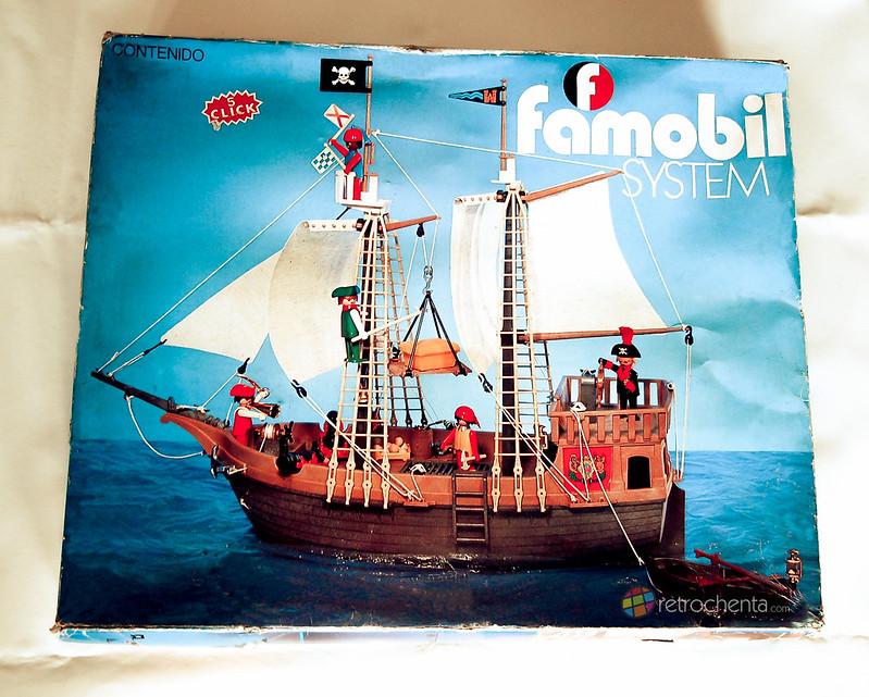Famobil - barco pirata en caja