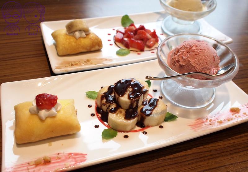 26 藝廊景觀餐廳 法式薄餅+莫凡彼冰淇淋