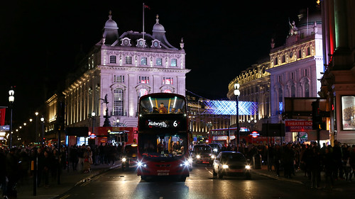 Route 6 at Piccadilly