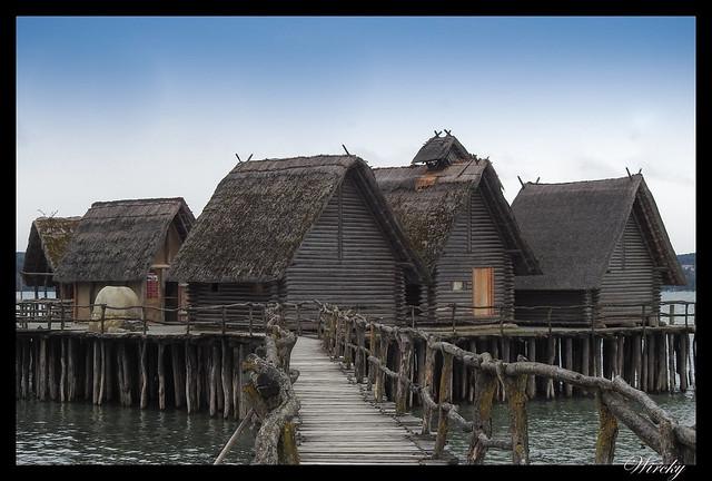 Palafitos Unteruhldingen lago Constanza - Museo de palafitos de Unteruhldingen