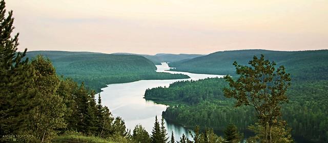 Lac Wapizagonke - La Mauricie National Park ( Québec, Canada)