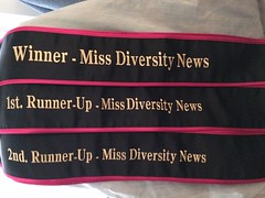 Queens/winners and runner-ups sashes has arrived. Here are 9 beautiful Sashes for the queens/winners and 1st and 2nd runner ups. Reminder ticket sales and sponsor ads are 70% worthy to win the pageant. Judges score is worthy only 10% and activities are wo