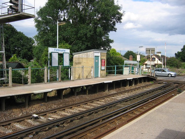 Fishbourne Station