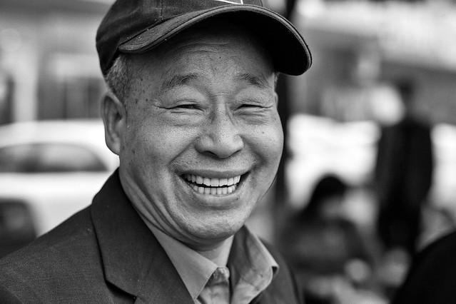 Fotos chinas. La sonrisa