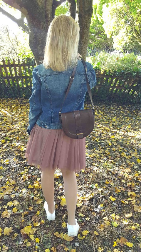 Tulle Skirt and Denim Jacket 1 (Small)
