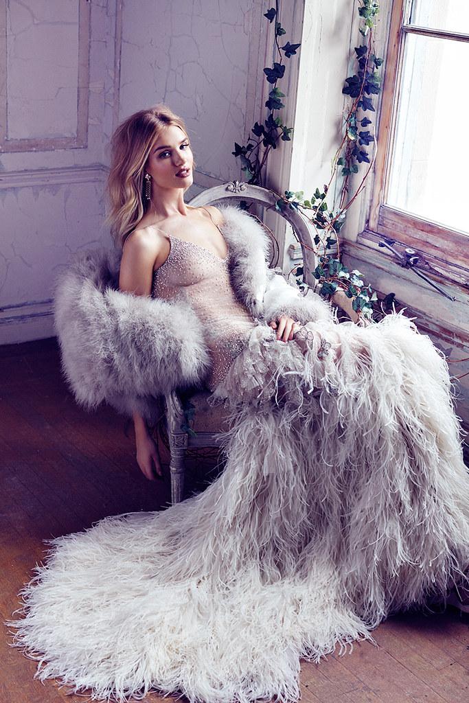 Роузи Хантингтон-Уайтли — Фотосессия для «Harper's Bazaar» UK 2016 – 10