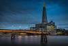 London Bridge At Dusk by Mike Hewson