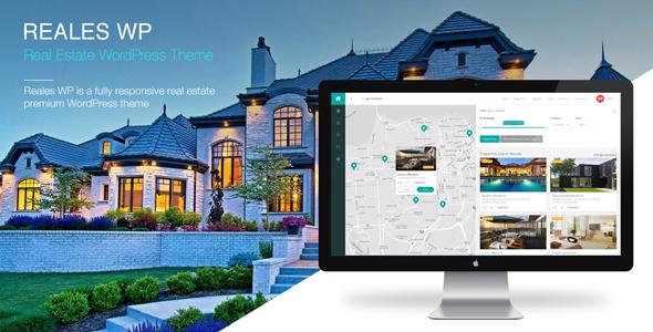 Reales WP v1.0.8 – Real Estate WordPress Theme