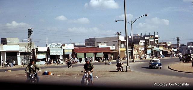 Saigon 1972 - Có lẽ là ngã tư Hàng Xanh