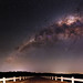 Milky Way at Serpentine Dam, Western Australia by inefekt69