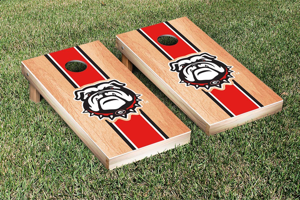 Georgia Bulldogs Hardcourt Stripe Version 2