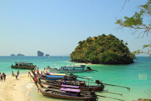 Tup Island, Krabi, Thailand