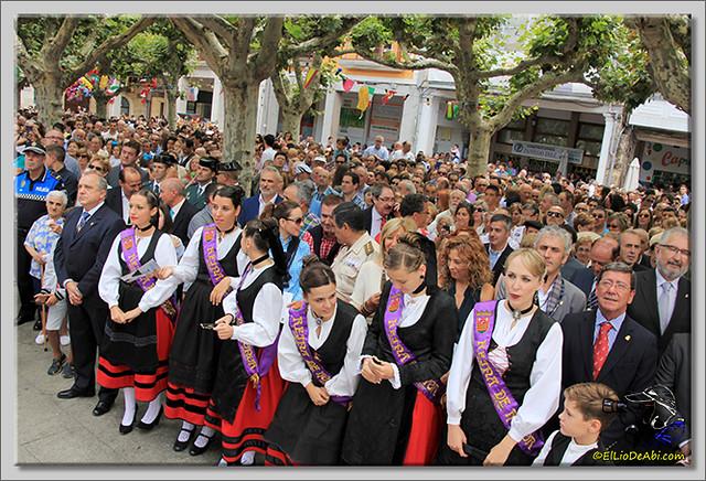Briviesca en Fiestas 2.015 Recepción en el Ayuntamiento y canto popular del Himno a Briviesca (13)