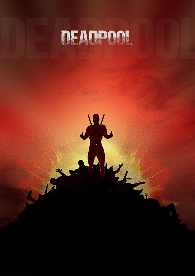 Deadpool Poster Design