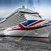 The impressive sized P&O Britannia by mrculps