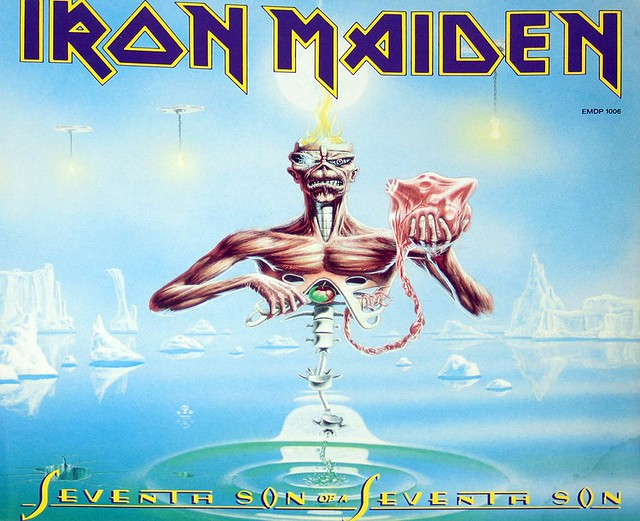 IRON MAIDEN SEVENTH SON OF A SEVENTH SON PD PICTURE DISC
