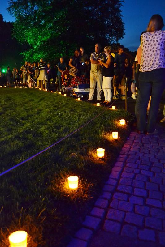 Karlsruhe: Lichterfest - Stadtgarten - 22.08.2015
