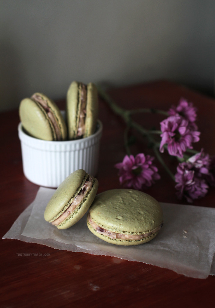 20900029438 0249a8f77d b - Matcha Macarons with Red Bean Filling + My Japan Travel Video!