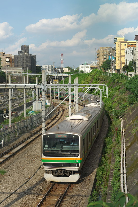 Tokyo Train Story 湘南新宿ライン 2015年9月19日