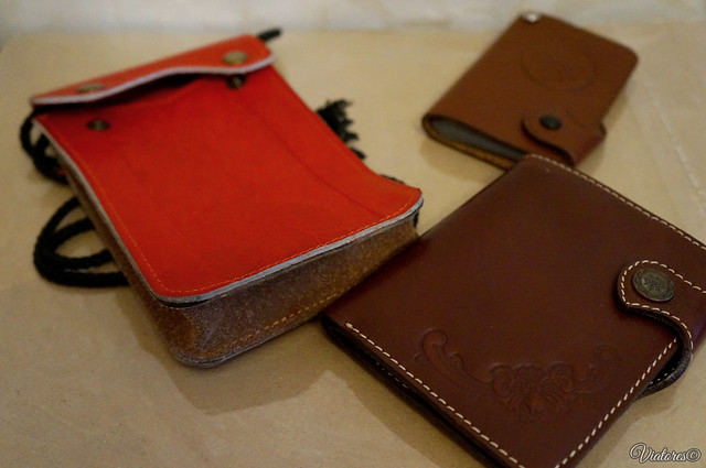 Gifts from Baikal. Leather and wood products