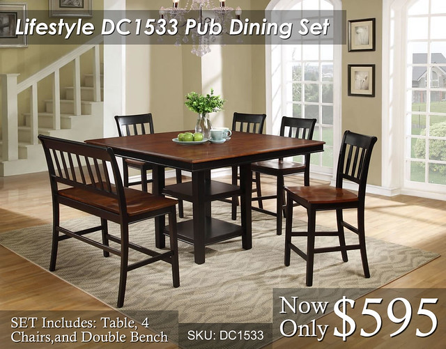 Lifestyle DC1533 Dining Set