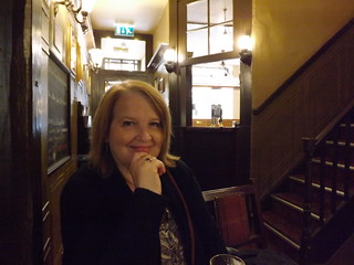 In the York Arms.