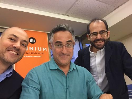 Presentació del llibre 'Let Catalonia Vote' de l'eurodiputat Ramon Tremosa a Mataró