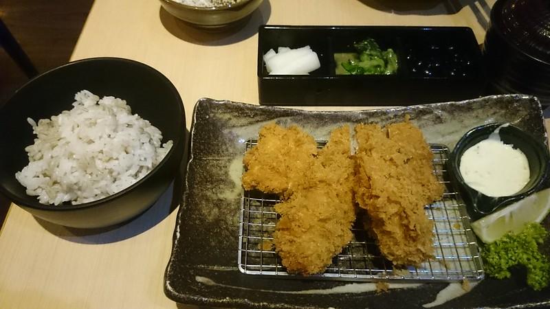勝博殿炸廣島牡蠣B餐