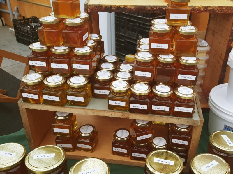 St. Jacob's market honey