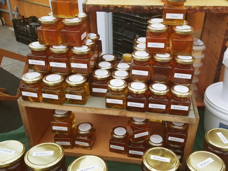 St. Jacob's market honey