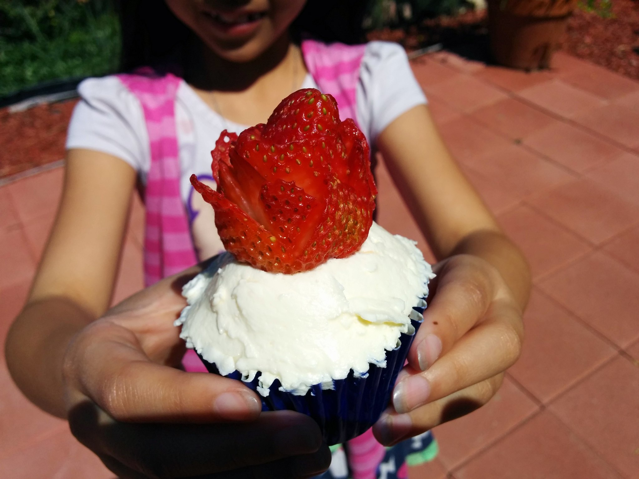 Cupcake with Lemon Cream Cheese Frosting