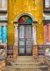 Benin, West Africa, Porto-Novo, multicoloured great mosque by Eric Lafforgue