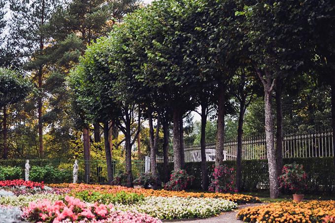 pavlovsk palace garden