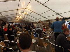 Beer festival in York.