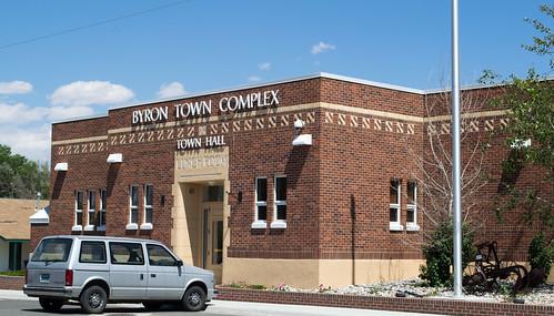Byron, WY Town Hall (#0580)
