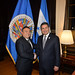 Assistant Secretary General Meets with President of Honduras