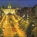 4351 R Praha Vaclavske Namesti Václavské nám?stí Wenceslas Square Wenzelsplatz Place Saint Venceslas ?????????? ???????  Foto Ji?í Doležal Tisk Severografia D??ín sent 6. IV.1990.