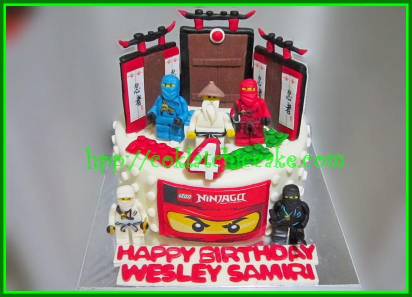 Cake Ninjago Lego