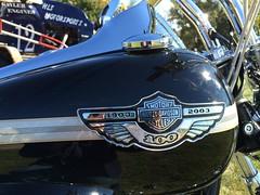 2003 Harley Davidson 100th Anniversary Edition motorcycle
