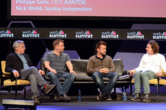 Currency wars talk at the Web Summit 2015