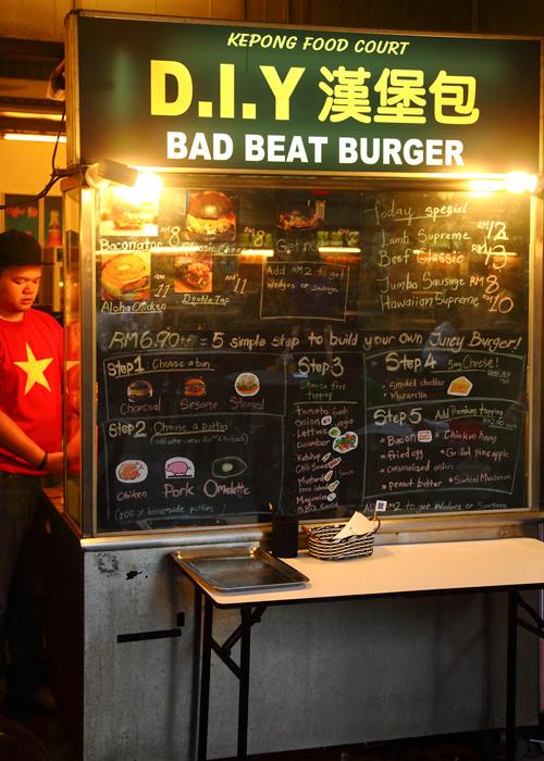Bad-Beat-Burger-Kepong-Food-Court