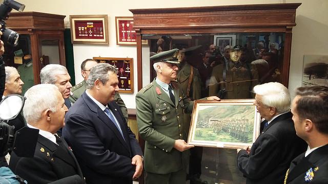 Παρουσία Πολιτικής και Στρατιωτικής ηγεσίας ΥΠΕΘΑ στις εκδηλώσεις τιμής και μνήμης στο Οχυρό Ρούπελ