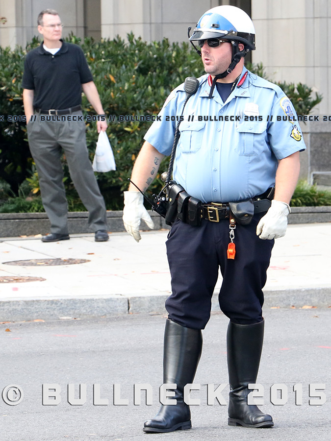 Motorcycle Cop Boots
