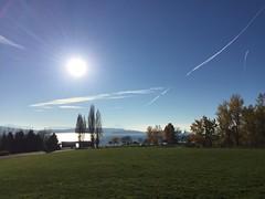 Kite Hill toward Lake Washington and Mt. Rainier